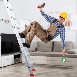 assurance chute échelle bricolage
