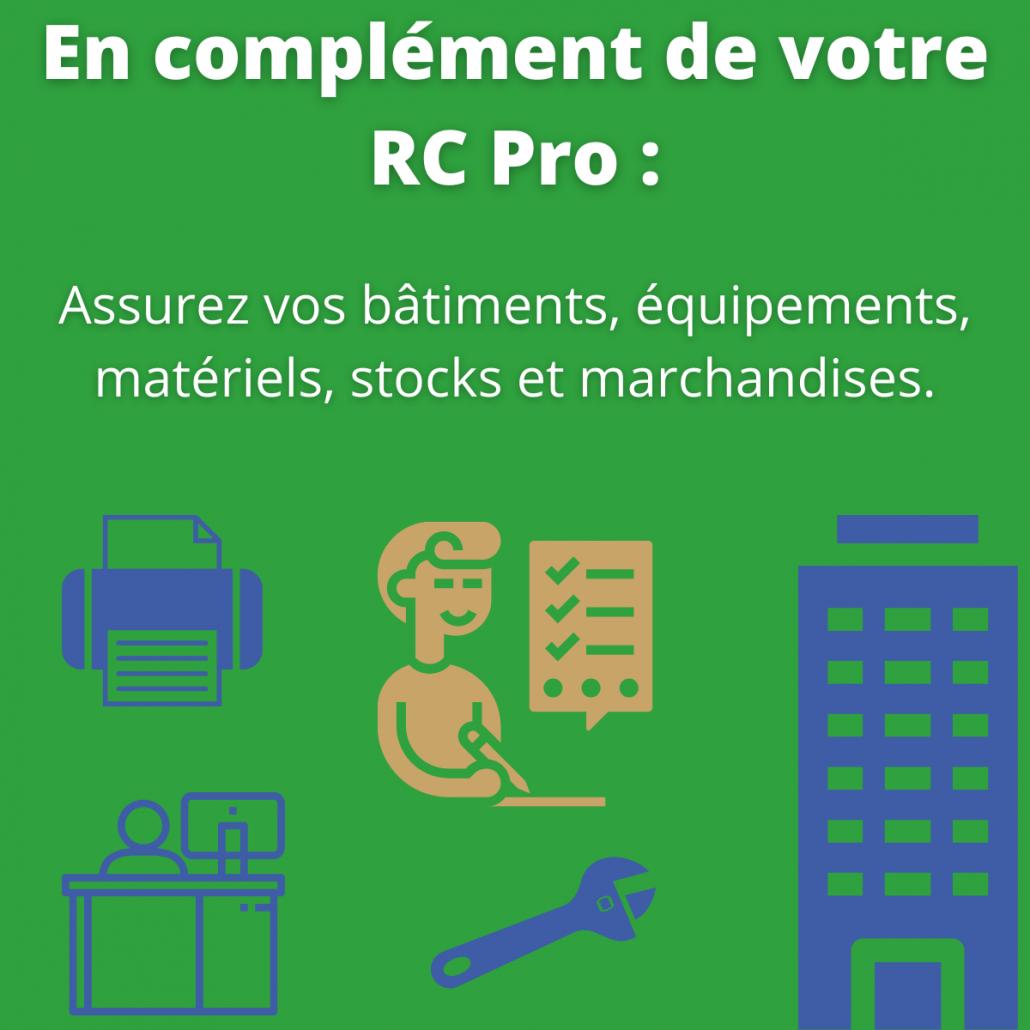 Garanties en complément d'une RC pro