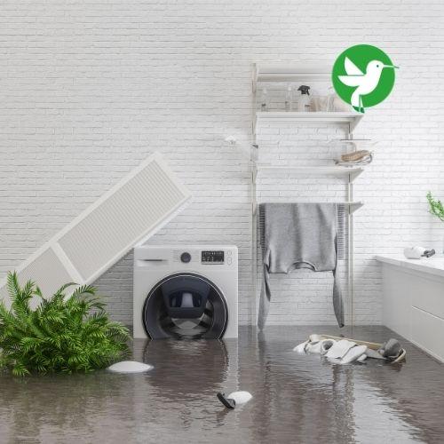 Souscrire à une assurance habitation, c'est aussi se protéger contre les dégâts des eaux.