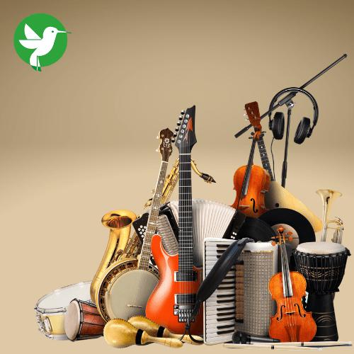 Assurez vos instruments de musique