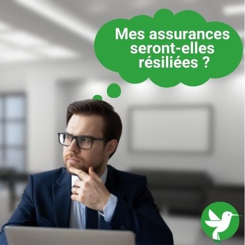 Mise en sommeil de l'entreprise : les assurances seront-elles résiliées ?
